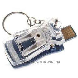 USB Сетевое универсальное зарядное устройство - лягушка жабка брелок