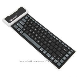 Беспроводная гибкая силиконовая клавиатура