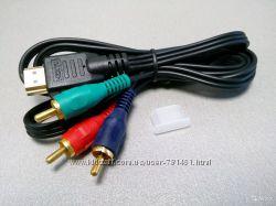 Компонентный hdmi - 3 rca кабель для передачи AV сигнала