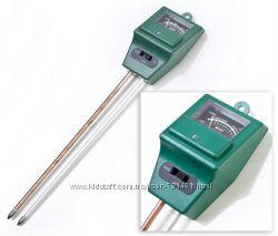 Прибор для измерения кислотности и влажности почвы 3 в 1