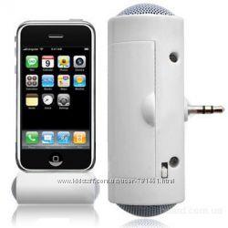 Портативная мини колонка спикер для телефонов, MP3 плееров с 3. 5 мм разъёмо