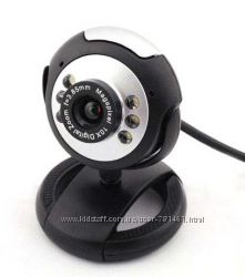 Веб-камера 12. 0 Mega USB 2. 0 c ночной подсветкой 6 LED  Микрофон