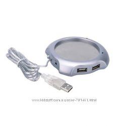 Подогреватель кружки USB с хабом