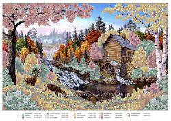 СП схемы для вышивания бисером- Пейзажи, Природа