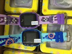 Умные детские часы Smart Baby Watch Q100 Aqua водонепроницаемые