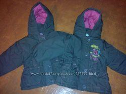 Демисезонные куртки двойне, рост 68 см