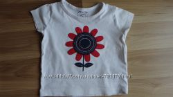 Брендовые футболки девочке 1-2 года