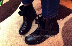 Резиновые сапожки полусапожки ботинки
