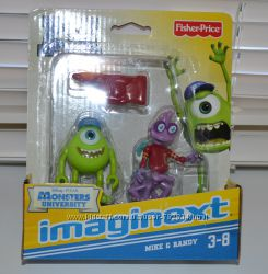 Университет монстров Imaginext от Fisher price, Майк и Ренди