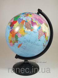 Глобус политический, диаметр от  160мм