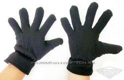 Перчатки флисовые цвет черный и олива Reis