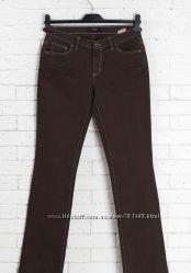 джинсы штаны плотные коричневые Италия Conbipel 38 р.
