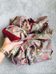 Шикарные платки разные расцветки