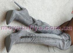 Ботфорты на шнурвке