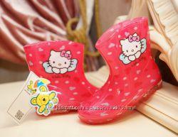 Резиновые сапожки Hello Kitty на девочек