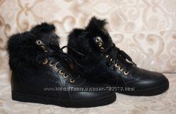 Стильные зимние кеды Gucci