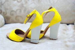 Желтые босоножки Vicont последний размер