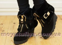 Зимние ботинки Foletti с отворотом