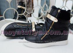 Зимние ботинки сникерсы GZ последние размеры