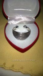 Шикарное серебряное кольцо 925 проба, размеры16 - 19