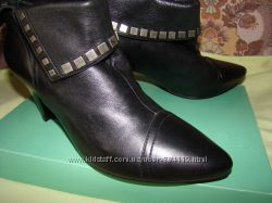 ботинки ботильоны кожа