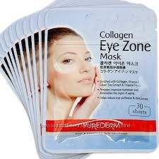Purederm Collagen Eye Zone Mask Коллагеновые патчи под глаза