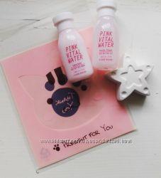 Увлажняющий набор Etude House Pink Vital Water  с персиковой водой