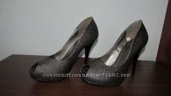 туфли на шпильке блестящие Rima
