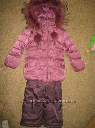 Зимний костюм Bilemi с мехом енота