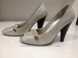 Туфли серебристые  Fellini  Феллини