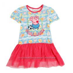 Платье со свинкой Пеппой, рост 92, 98, 104, 110, 116
