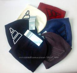 Двойные вязанные шапочки для подростка