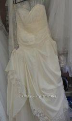 Свадебное платье44- 46р