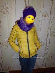 Шапка, шарф, снуд, зима