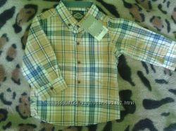 Рубашка Next на 9-12 м