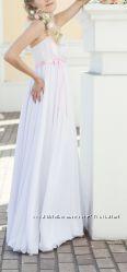 Нежное платье в стиле ампир