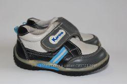 Полуботики, туфли для малыша, нат. кожа. Р. 20, 13 см стелька