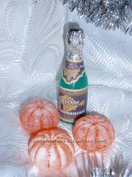 мыло мандарин, шампанское, банан, икра, дед мороз, восьмое марта, мартышка,