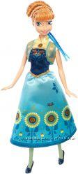 кукла Анна холодное сердце Дисней Disney frozen fever Anna doll