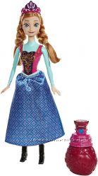 Кукла принцесса Анна Холодное сердце. Измени цвет. Маттел. Оригинал. США