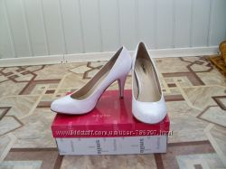 Свадебные туфли 38 р. 24 см.