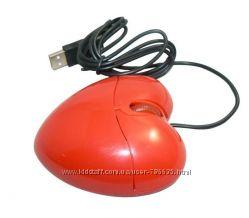 Мышь компьютерная 3D сердце 1200 dpi