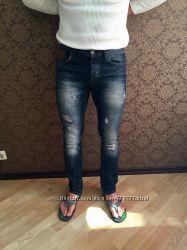 Красивые и стильные Мужские джинсы Zara, р. 32, евро 42