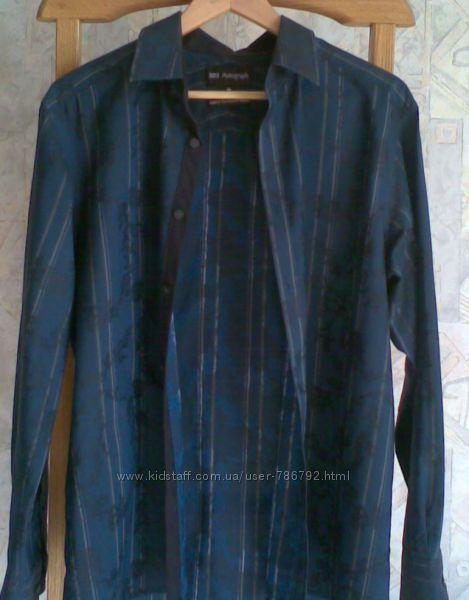 Мужская рубашка Marks & Spencer р. М