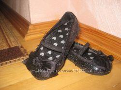 Нарядные туфельки с паетками для маленькой принцессы