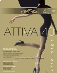 колготки колготы Omsa Attiva 20, 40, 70, Plus glam,  Filodoro чулки