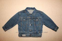 Стильный джинсовый пиджак для юного модника