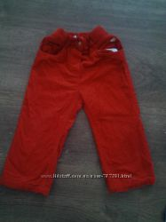 штаны фирменные на рост 86