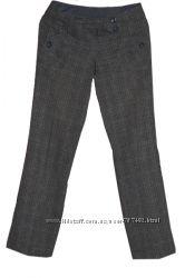 Женские брюки серого цвета, классика