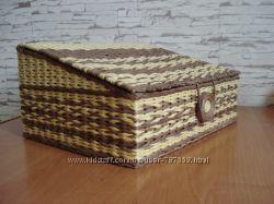 Hand Made Хлебница плетеная из лозы